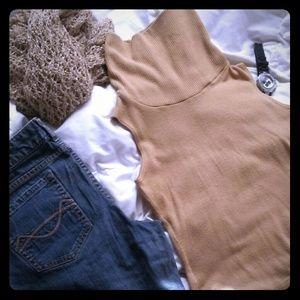 Papaya Vintage now Cowl Neck SS Sweater